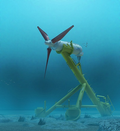 ANDRITZ HYDRO Hammerfest Tidal Turbine Technology single unit 22
